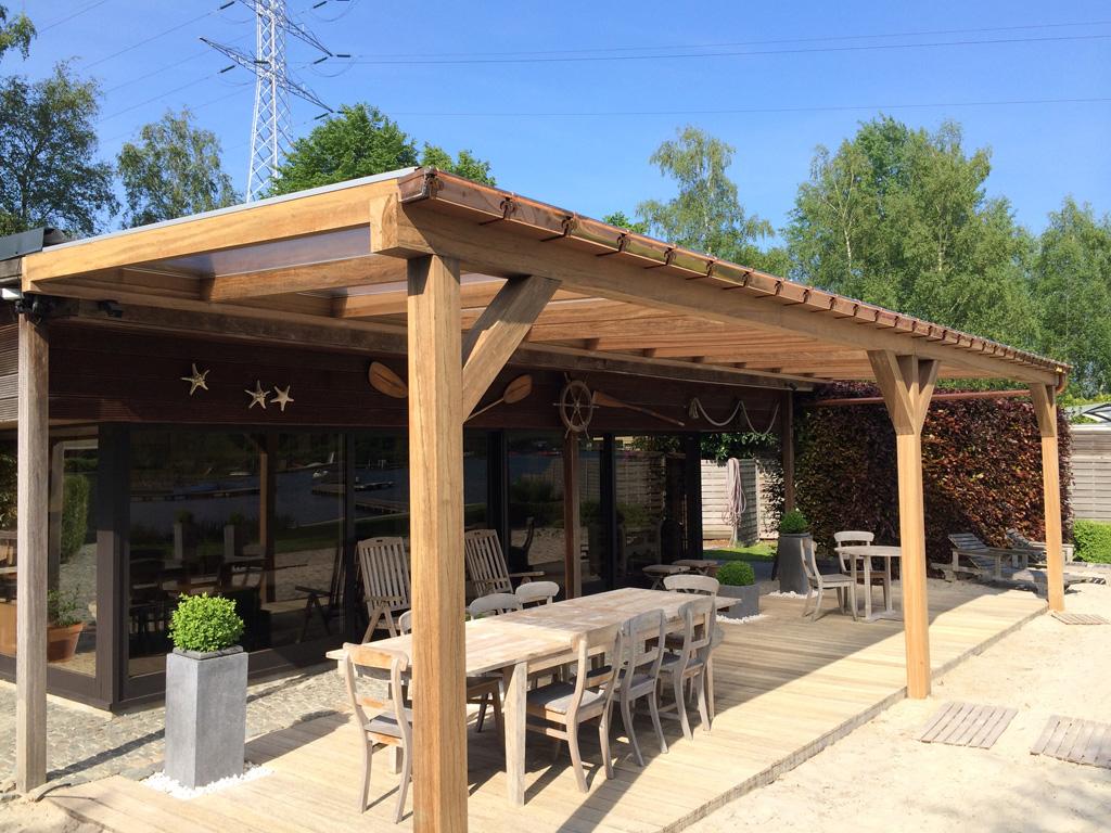 Skb construct kraanwerken dakwerken - Pergola dak platte ...