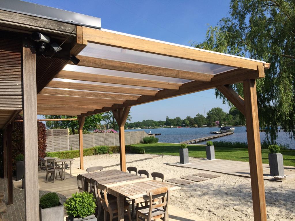 Skb construct kraanwerken en dakwerken hellende daken - Bedek pergola hout ...
